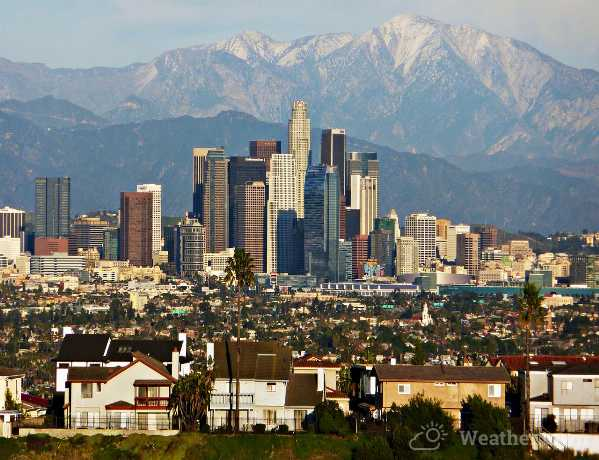 Los Angeles is a large city in the United States of America
